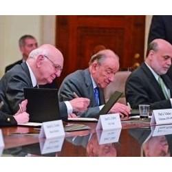 美联储迎百岁 三巨头聚首话危机